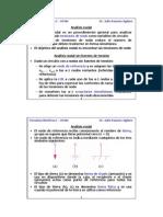 Analisis nodal y de mallas en corriente directa