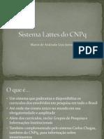 Sistema Lattes Do CNPq