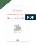 El Amor y El Matrimonio Secreto en Los Libros de Caballerias