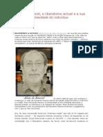 Alain de Benoist - o Liberalismo Atual e a Sua Negação Do Indivíduo (Nova Direita Europeia)