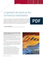 La Gestión de Stock en Los Comercios y Centros Veterinarios