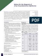 Guideline Difteri