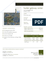 Hunter Gateway Center Property Flyer