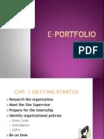 ahs8100 e-portfolio