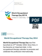 Guide to World Occupational Therapy Day 2014