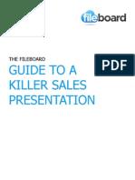 Fileboard - Guide to a Killer Sales Presentation