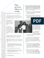 2004 Issue 1 - Practical Tips for Training Very Young Children to Stay in Worship - Counsel of Chalcedon