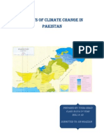 Effects of Climate Change in Pakistan