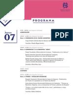 Programa Congreso Witold