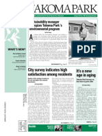 Takoma Park Newsletter - August 2014