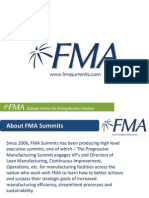 FMA Summits Top 10 Lean Tools