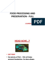 FOOD PROCESSING AND PRESERVATION-FULL