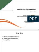 1 Bash Shell Scripting m1 Intro Slides
