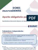 Presentacion Trabajador Independiente Aporte Pension Consolidado