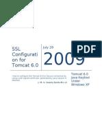 Configure Tomcat 6 for SSL using Java keytool