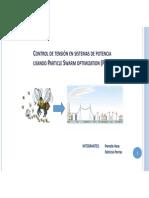 Presentación Particle Swarm Optimization