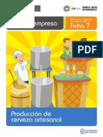 Ficha Extendida 07 Produccion de Cerveza Artesanal