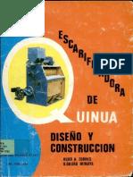 Escarificadora de Quinua Diseño y Construcción