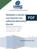 Jorge Arturo Juarez Rivera - 11002453 -Modelado y Solución de Una Situación Real