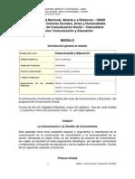 Modulo de Comunicaion Y Educacion 2014
