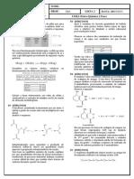 Lista 3 UERJ 2 Fase Fisico Quimica