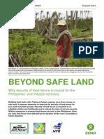 Beyond Safe Land