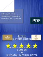Introduction to Hospitality Industry (Powerpoint)
