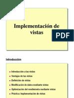 6.- Implementacion de Vistas