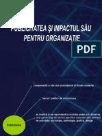 Publicitatea Si Impactul Pt Orgz. 2013