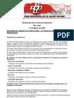Resolucion Diección Nacional 24 03 08