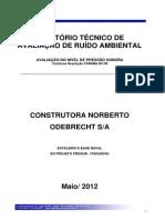 ANEXO IV - Relatorio Ruido - Odebrecht - Reclamação2