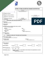 IMPI Solicitud de Registros