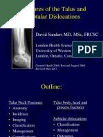 L14 Talus Fxs Dislocation