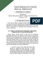 Consensus Theology
