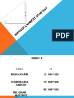 Main Powerpoint Slide of WL