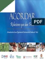 Compendio Sistematización ACORDAR 2010