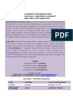Formular UDV 2014 - Varianta Finala Gheorghiţă Georgiana