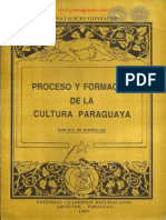 PROCESO Y FORMACION DE LA CULTURA PARAGUAYA - J NATALICIO GONZALEZ - PORTALGUARANI