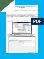Como Programar Tareas de Limpieza en Windows