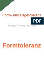 Vortrag Form- und Lagetoleranz