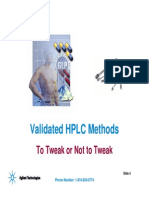 Validated HPLC Methods-Agilent