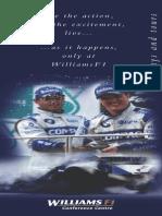 Williams f 1 Race Days