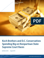 Koch Brothers and D.C. Conservatives Spending Big on Nonpartisan State Supreme Court Races