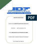Cambios y Proceso Decisiorios Planeacion y Ambiguedad