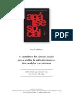 Artigo - Análise Social ACIDENTES(João Areosa)