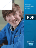 Barclays Money Skills Toolkit - Aged 16 - 25