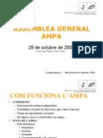 PRESENTACION ASAMBLEA OCTUBRE 2009