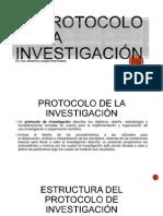 Tema 5 El Protocolo de La Investigación en Los Diseño Experimentales