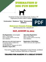 Dogs Show Registration Form