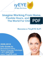 TinyEYE Guide To Becoming an Online Speech-Language Pathologist